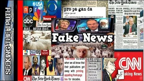 Mainstream News is Fake and Scripted - Documentary
