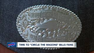 'Circling a wagon' around New Era Field ahead of this weekend's Bills game - Video