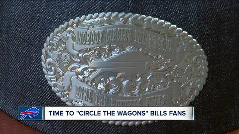 'Circling a wagon' around New Era Field ahead of this weekend's Bills game