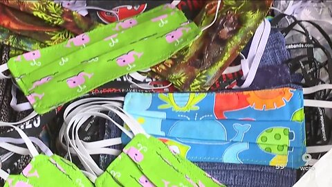 Acts of Kindness: Seamstresses volunteer to make masks for 1,800 foster kids