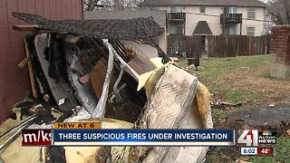 Series of Grandview fires believed to be arson - Video