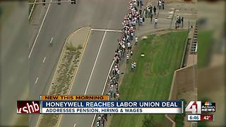 Avoiding strike, union negotiates new labor contract with KC Honeywell plant - Video