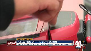 How to get your free credit freeze - Video