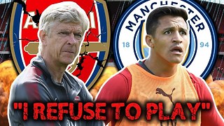 Alexis Sanchez FURIOUS With Arsenal After Transfer Collapses!