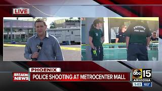 Suspect killed in shooting with police near Metrocenter Mall in Phoenix - Video