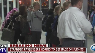 Passengers stranded after shooting at Fort Lauderdale-Hollywood International Airport still trying to get home - Video