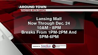 Around Town - Christmas pictures with Santa - 12/23/19