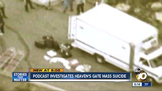 Podcast investigates Heaven's Gate mass suicide - Video