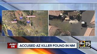 Suspect found dead in New Mexico after shooting and killing man in Surprise - Video