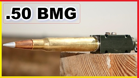 .50 BMG Round set off OUTSIDE a gun - What happens?