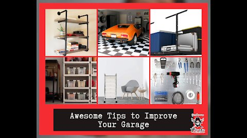 Awesome Tips to Improve Your Garage
