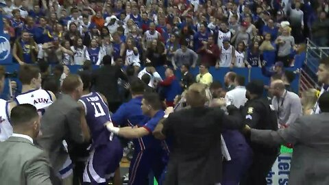 Fight breaks out at Sunflower Showdown