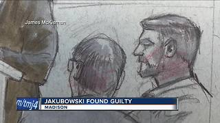 Jakubowksi found guilty - Video