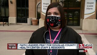 Faith leaders pray for county due to more COVID-19 cases