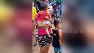 Rescue efforts continue in southern Laos after dam collapse - Video