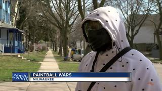 MPD issues warning after paintball shootings - Video