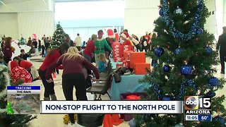 United Fantasy Flight takes students from Sky Harbor to the North Pole