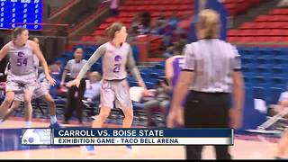 Broncos fall 62-61, to Carroll College - Video