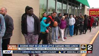 Little Caesars offers free lunch after UMBC beat Virginia
