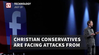 Christian Conservatives Under Attack As Facebook Makes Brutal 24-Hour Decision - Video