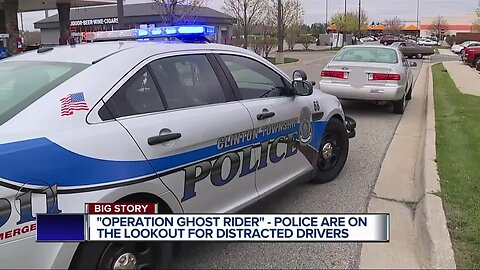 Operation Ghost Rider: Police will ride in unmarked cars to target distracted drivers on M-59