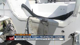 Boat engine thefts continue in Cape Coral