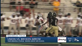 Broken Arrow holds on to defeat Union