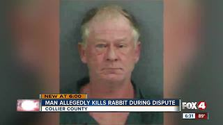 Naples man accused of killing rabbit during dispute - Video