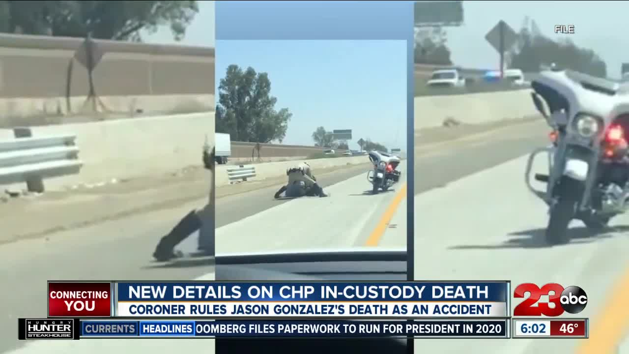 New Details on CHP In-custody Death