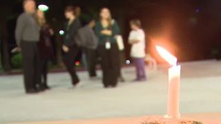 NSC holds vigil for two college alumni killed in mass shooting - Video