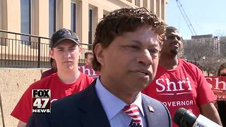 Thanedar turns in signatures to qualify for ballot - Video
