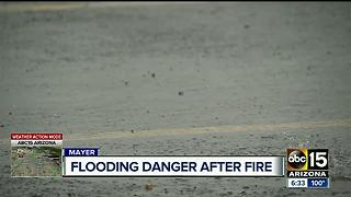 Flooding danger expected after Goodwin FIre - Video