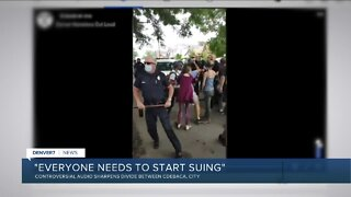 Denver Mayor Michael Hancock on police incident while clearing homeless camp