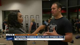 It's National Women's Health and Fitness Day!