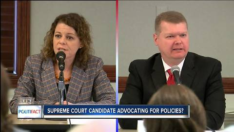 PolitiFact: Supreme Court Candidate advocating for policies?