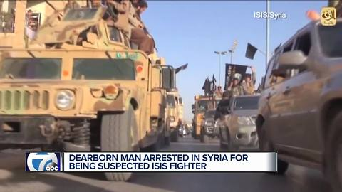 Dearborn native captured in northern Syria, accused of fighting for ISIS