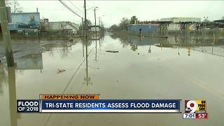 Flood cleanup efforts underway - Video