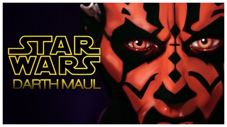 A STAR WARS DRAWING - DARTH MAUL - Video