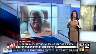 Missing 86 year-old-woman from Baltimore County - Video