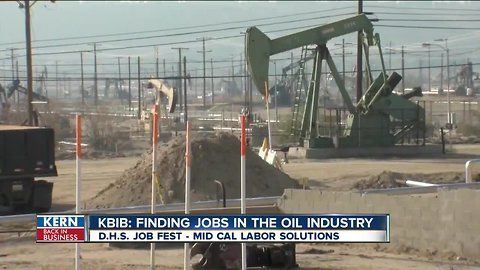 KBIB: Finding jobs in the oil industry
