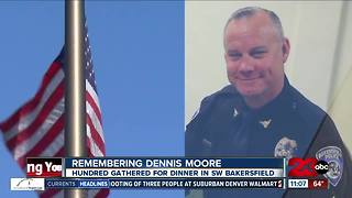 Sgt. Dennis Moore remembered and celebrated with dinner - Video