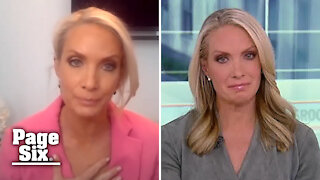 Dana Perino reacts to crying during Fox News domestic violence interview