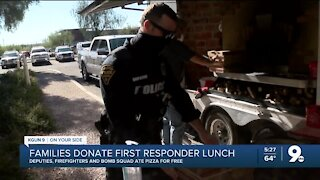 Giving back to first responders