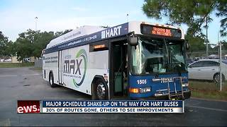 Major schedule shake-up on the way for HART bus routes - Video