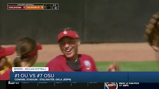 OU softball beats OSU in late-game thriller