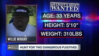 Detroit's Most Wanted: Willie Wright arrested in Indiana but accidentally released - Video