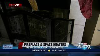 Heat your home safely with these tips