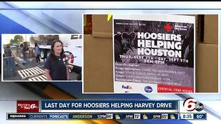 Saturday is the last day for Hoosiers Helping Houston - Video