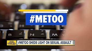 #MeToo giving Tampa Bay area victims courage to speak up about sexual harassment and abuse - Video