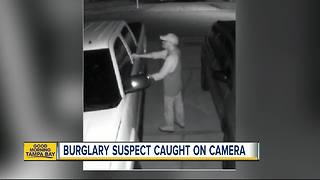 Man tries to break into car, arrested by deputies waiting inside - Video